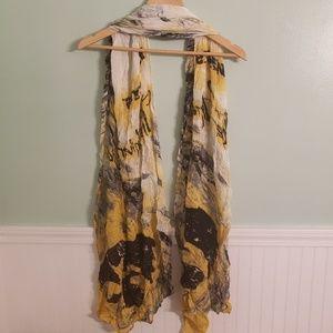 University of Iowa fashion scarf